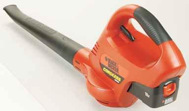 Black Amp Decker Ns118 18 Volt Cordless Electric Broom Hard