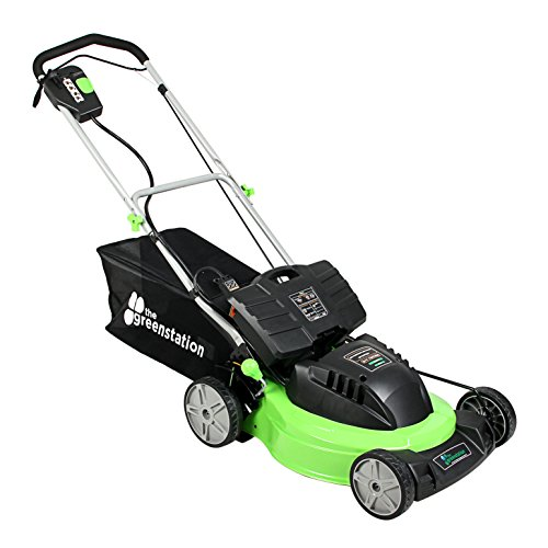 The Greenstation Lawn N 2 19 Self Propelled Cordless 24