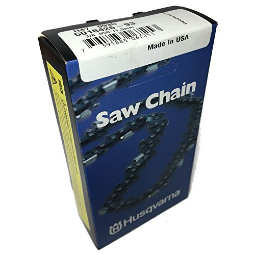how to count drive links on chainsaw chain