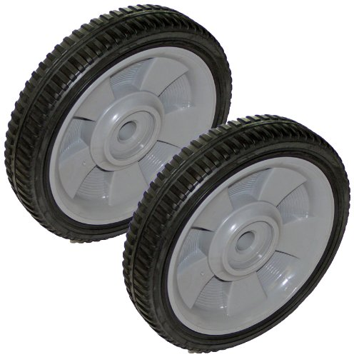 Black Amp Decker Mm550 Lawnmower Replacement 2 Pack Wheel