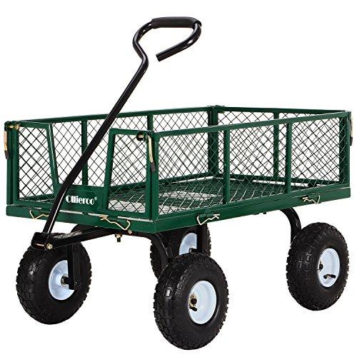 Electric Farm Wagon ~ Ollieroo utility wagon farm and ranch heavy duty steel