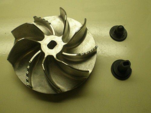 Leaf Blower Amp Vacuum Parts Oem Toro Electric Blower Vac Impeller Fan 114 9020 108 8967 Magnesium New