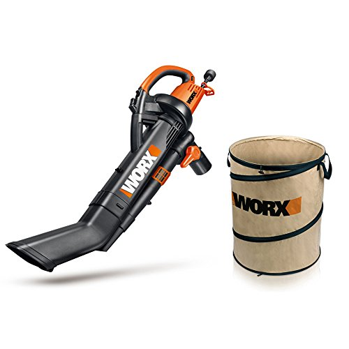 Worx Wg509 Electric Trivac Blower Mulcher Vacuum With 26