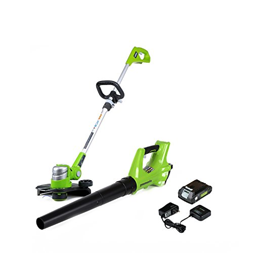 Greenworks Stba24b210 24v Cordless String Trimmer And