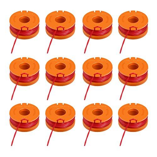 Enegitech 12 Pack 10 Foot Grass Trimmer Spool Line