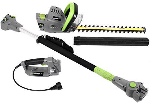Earthwise 2 In 1 Convertible Pole Hedge Trimmer