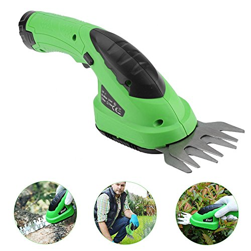 Gloglow 2 In 1 Cordless Lithium Ion Grass Shear Hedge